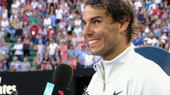 Nadal after fourth round win: 'I was able to keep fighting until the end'