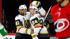 NHL: Golden Knights 5, Hurricanes 1