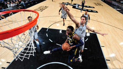 NBA: Pacers 94, Spurs 86