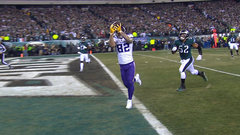 Rudolph caps Vikings' opening drive with TD