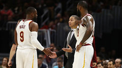 Cavs players in support of Lue