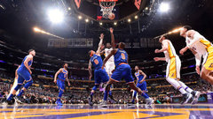 NBA: Knicks 107, Lakers 127