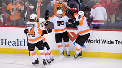 NHL: Flyers 2, Capitals 1 (OT)