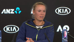 Wozniacki: 'For me it's just been no pressure, and go out there and have fun'