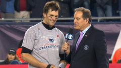 Brady reveals he had a 'pretty good cut' on his throwing hand