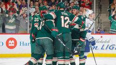 NHL: Lightning 2, Wild 5