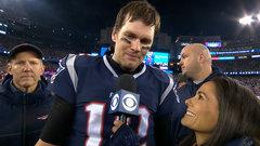 Proud Brady praises team, says he's played through worse injuries