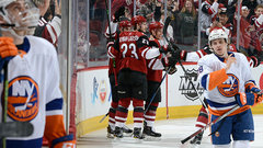 NHL: Islanders 2, Coyotes 3 (OT)
