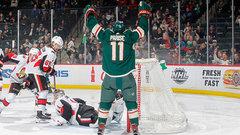 NHL: Senators 1, Wild 3