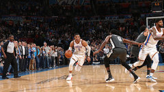 NBA: Nets 108, Thunder 109
