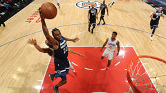 NBA: Timberwolves 126, Clippers 118