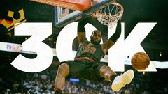 LeBron's journey to 30,000 points