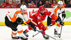 NHL: Flyers 3, Red Wings 2 (OT)