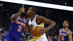 NBA: Knicks 112, Warriors 123