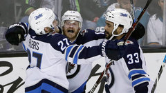 NHL: Jets 5, Sharks 4 (OT)