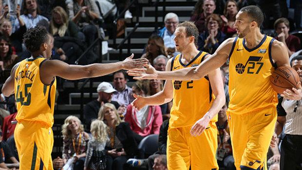 NBA: Suns 97, Jazz 107
