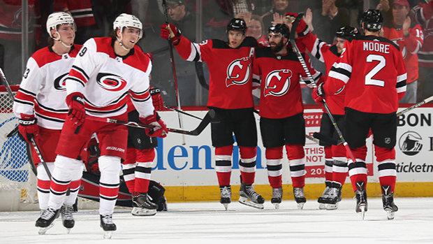 NHL: Hurricanes 2, Devils 5