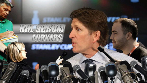 NHL Scrum Lurkers