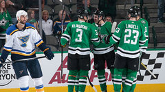 NHL: Blues 1, Stars 2