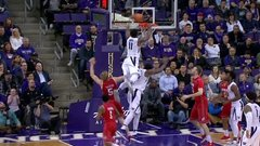 Must See: Carter leaps over teammate for putback dunk