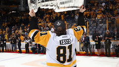 Kessel on possibly winning an Art Ross: 'I got two Cups'