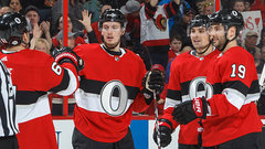 NHL : Rangers 3, Senators 6