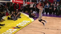 Must See: Nance double taps backboard for incredible jam