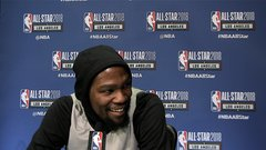 Durant: Embiid 'is going to take over the league once I'm done'