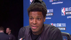 Lowry happy to create lasting memories during All-Star weekend