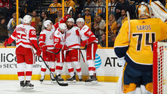 NHL: Red Wings 3, Predators 1