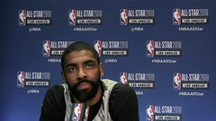 Kyrie: Team LeBron 'best five I've ever been on the court with'