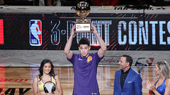 Booker crowned 3-Point champ; Dinwiddie wins Skills Challenge