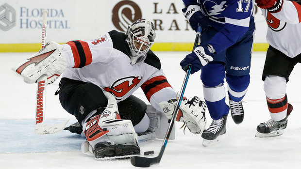 NHL: Devils 4, Lightning 3