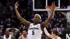 NCAA: (2) Michigan State 65, Northwestern 60