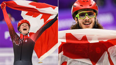 Boutin and Girard become Canada's newest Olympic idols