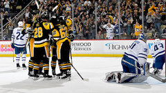 NHL: Maple Leafs 3, Penguins 5