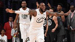 NBA All-Star: Team LeBron 148, Team Steph 145