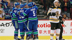 NHL: Bruins 1, Canucks 6