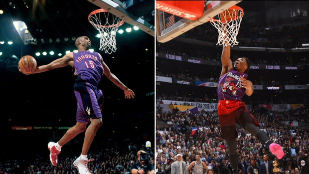 Must See: Mitchell channels Vinsanity to win dunk contest
