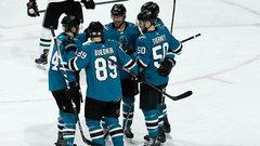 NHL: Stars 2, Sharks 5