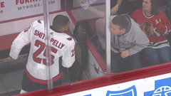 Blackhawks fans ejected for racially charged taunts against Smith-Pelly