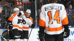 NHL: Flyers 7, Rangers 4