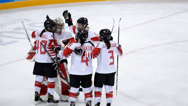 Canada focusing on winning first gold together, not drive for five