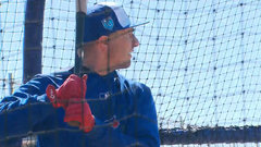 Tulowitzki takes batting practice
