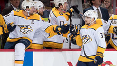 NHL: Predators 3, Red Wings 2