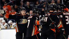 NHL: Ducks 2, Golden Knights 0