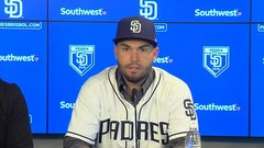 Hosmer ready to lead Padres
