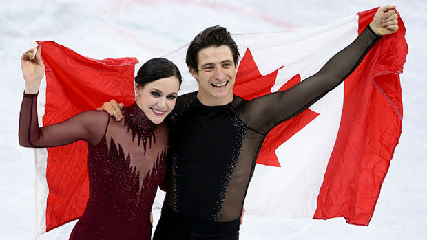 Golden moment for Moir and Virtue