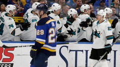 NHL: Sharks 3, Blues 2