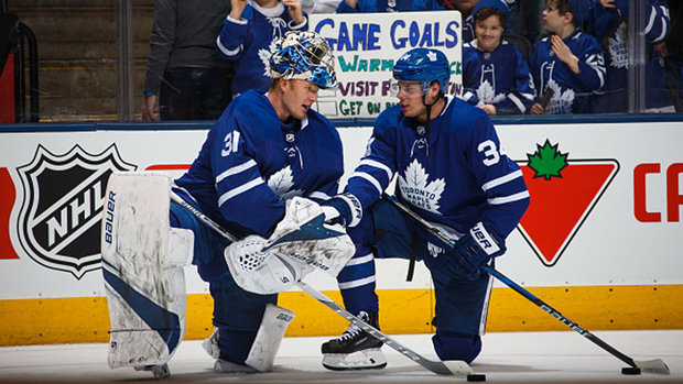 Matthews on Andersen: 'We're even now that I took that one in the foot for him last night'